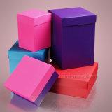 다채로운 매력적인 여자 바지 마분지 선물 포장 상자
