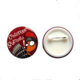 Pin-Abzeichen-/Zinn-Tasten/kundenspezifisches Pin-Tasten-Abzeichen mit Sicherungsstift (YB-TB-01)