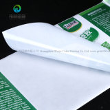 Ярлык логоса крена изготовленный на заказ прочного стикера упаковки слипчивый изготовленный на заказ