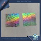 銀製カラーバーコードのホログラムの反偽造のステッカーの印刷