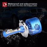 Ymq3 phare sans ventilateur compatible H4 du lumen 20W DEL des ampoules 2500 du véhicule DEL