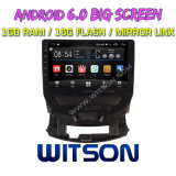 """Witson grande ecrã de 9"""" com sistema Android 6.0 aluguer de DVD para Chevrolet Cruze 2015"""