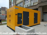 Motor Diesel Soundproof do gerador 120kw/150kVA Deutz que gera jogos
