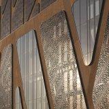 レーザーの切口PVDFアルミニウムスクリーンのパネルのMashrabiyaの区分部屋ディバイダBi折るスクリーン