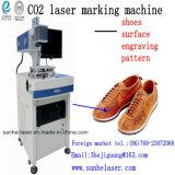 Marcação a laser de CO2 / Gravura / máquina de impressão para o couro / plástico/Madeira