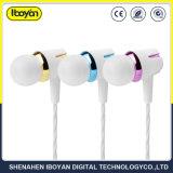 La reducción de ruido Mini Música en móviles de la oreja los auriculares con cable