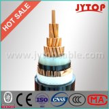 Mv kv 6.35/11seul noyau conducteur en cuivre avec isolation XLPE Câble d'alimentation