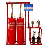 Sistema estinguente della rete Hfc227ea (FM200) di lotta antincendio di Ministero del Tesoro della Banca