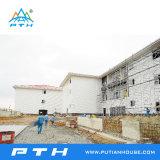 مشروع في [فيرجن يسلند] فولاذ بناية لأنّ [شوبينغ] مركز تجاريّ