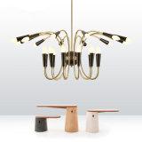 Современная гостиница хорошего качества золотые украшения подвесной светильник (GD18164P-L8+8)