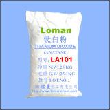 Pintura inorgánica y dióxido Titanium usado capa, La101 de los productos químicos de las mejores ventas