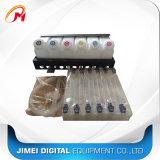 Massensystem 6+12 mit Flaschen-Kassetten-Tinten-Gefäß-Verbinder-Massentinten-System für Mimaki /Mutoh/Roland 6 Kassette der Farben-(6+12)