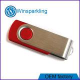 Rode a unidade flash USB com azul, verde, Corpo vermelho