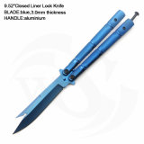 """9.52 """" закрыли нож замка вкладыша с голубыми ручкой и лезвием"""