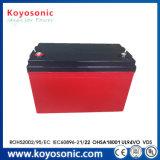 12V 4 Ah à cycle profond pour l'urgence de la batterie batterie/système d'alarme de sécurité/l'équipement médical