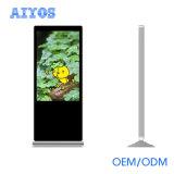 Aiyos 49 50 индикация Signage LCD цифров дюйма вертикальная для крена и гостиницы