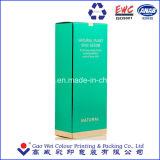 Caja de papel plastificado mate para el cuidado de la piel Crema