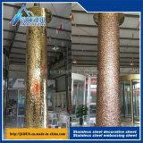 Produits Shaped faits sur commande en métal d'ondulation de l'eau de plaque décorative d'acier inoxydable