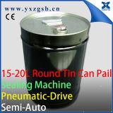 O balde redondo grande semiautomático específico de 18L 5-Gallon pode fazendo a máquina da selagem