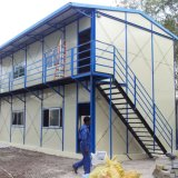 Het goedkope huis-Geprefabriceerde Huis van het Staal Geprefabriceerd huis