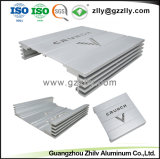 Vendita calda! Espulsione di alluminio personalizzata per il radiatore dell'audio strumentazione dell'automobile