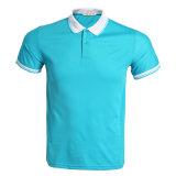 La publicité personnalisée en usine des hommes de la haute plaine de la qualité de Polo shirts avec logo