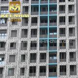 Materiale di alluminio della decorazione del pannello di rivestimento della parete perforata