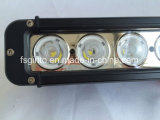 17polegadas Barra de luz LED de fileira única para o SUV, Jeep, ATV, Offroad Carros