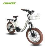 bici elettrica pieghevole della gomma grassa 20inch con la batteria ricaricabile da vendere