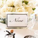 Marcos de acrílico claros Wedding el marco de la foto con el tornillo
