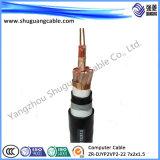 Изолированный PVC Bpvvp и обшил силовой кабель автомобиля с откидным верхом частоты низкого напряжения тока