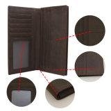 Роскошный бумажник людей неподдельной кожи мешка муфты бумажника монетки человека
