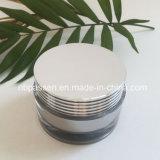 Vaso crema acrilico d'argento popolare 50g per l'imballaggio dell'estetica (PPC-NEW-131)