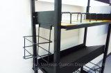 El lecho movible del estante de visualización de la almohadilla del metal de la asamblea acolcha el estante
