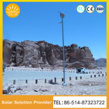 8m de alto rendimiento de 9m de las luces de calle Solar con batería de gel
