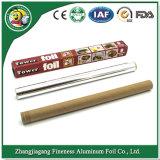 заводская цена цветные промышленных рулонов из алюминиевой фольги для использования на кухне