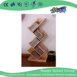 특별한 디자인 유치원 아이들 (HG-4106)를 위한 나무로 되는 책 전시 내각