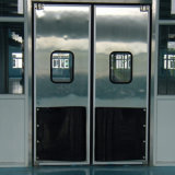 Folha simples/dupla porta de tráfego de Impacto da Porta de Giro