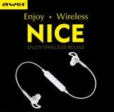 Awei A610bl 핸즈프리 무선 Bluetooth 이어폰 스포츠 이어폰 음악 헤드폰