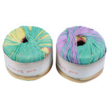 Fils de rayonne de tricotage multicolores