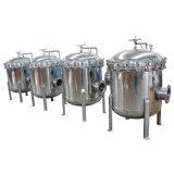 Filtro a sacco in grande quantità ed alto del filtrante di acqua di flusso
