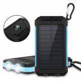 OEM 2018 USB cargador de móvil Banco de la Energía Solar 10000mAh cargador de batería portátil de alta calidad