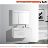 Banho de MDF Branco Brilhante vaidade TM8250