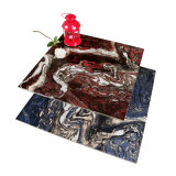 磨かれた艶をかけられた床タイルの600X600水晶大理石の石造りデザイン