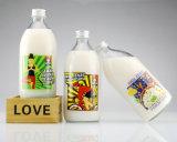[350مل] [500مل] زجاجيّة عصير زجاجة مع ألومنيوم غطاء مع ملصق مائيّ