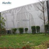 Fabrik-Großverkauf passt Aluminiumzwischenwand für Zäune an