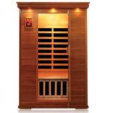 Verkopend 2 Verre Infrarode Sauna's van Personen Populair in Europa