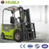 Huili 2 톤 AC 건전지 전기 지게차 안전한 수송