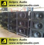 Stade professionnel performances système de son système de line array PA L'orateur