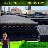 アメリカの市場のための450mmのHDPEの倍の壁の波形の管